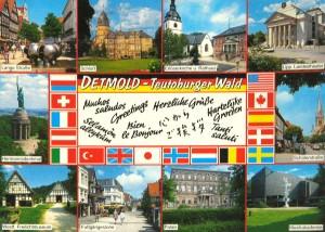 Postkarte aus Detmold